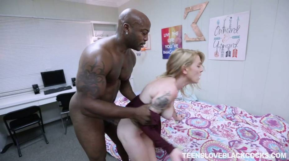 Unforgettable big black cock surprise for naughty blond chick Nora Ivy - 16. pic