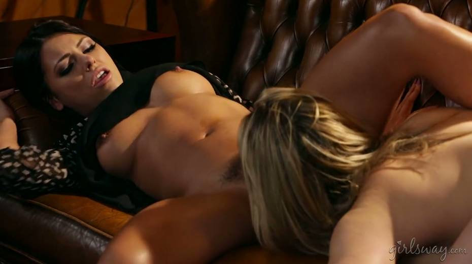 Captivating romantic lesbian video featuring Adriana Chechik and her sexy GF - 7. pic