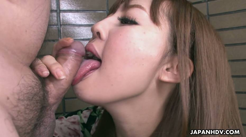 Yummy Asian chick Nami Aoyama gives the best ever yum-yum blowjob - 18. pic