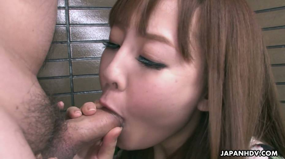 Yummy Asian chick Nami Aoyama gives the best ever yum-yum blowjob - 19. pic