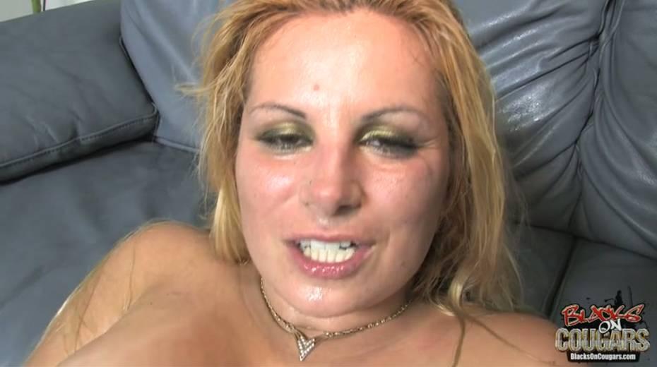 Heavy tittied bitch rides big black dude and masturbates cunt - 7. pic