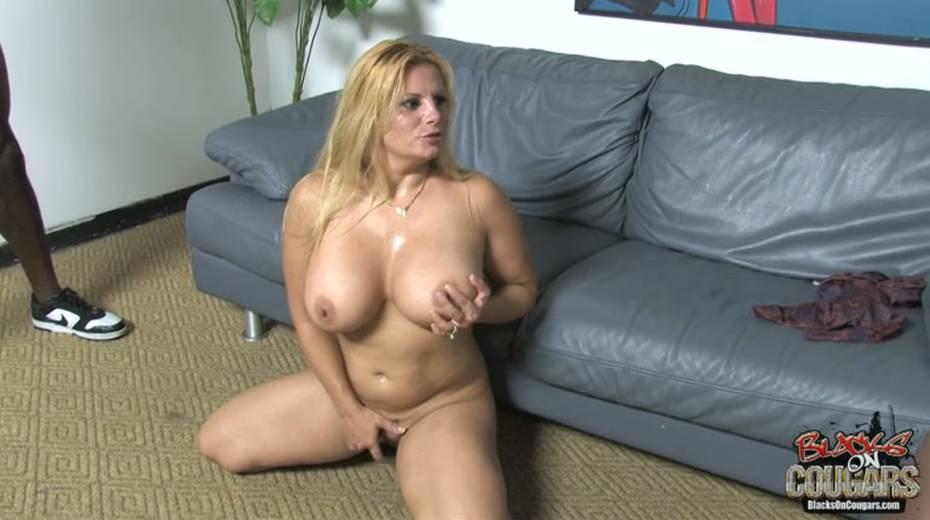 Heavy tittied bitch rides big black dude and masturbates cunt - 13. pic