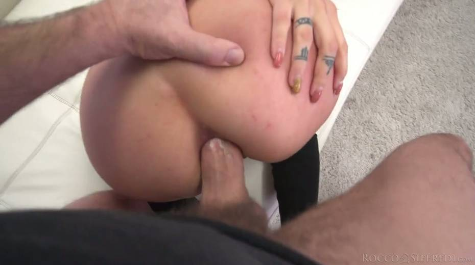 Horny Rocco is checking out deep throat and tight anus of Nelly Kent - 23. pic