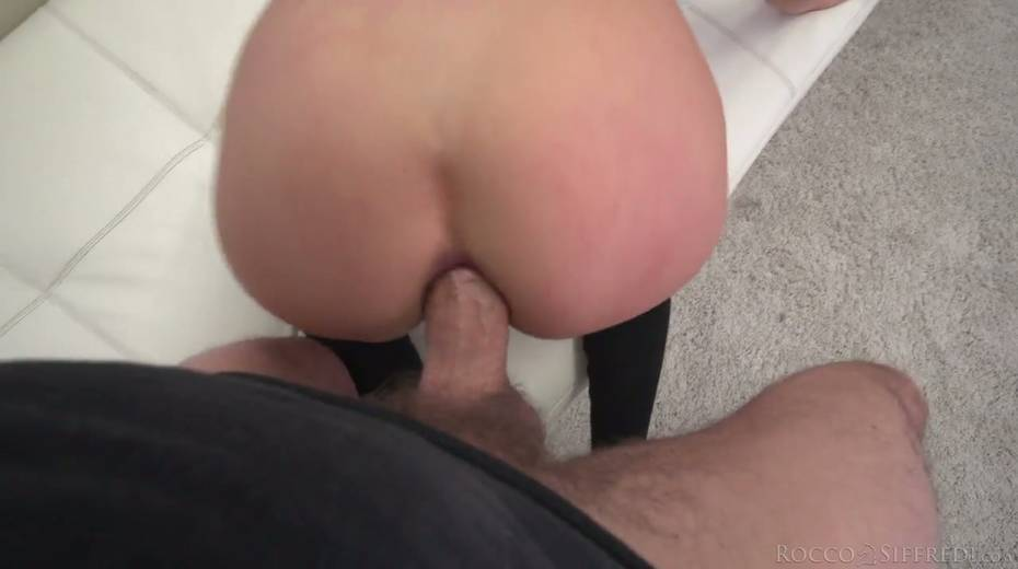 Horny Rocco is checking out deep throat and tight anus of Nelly Kent - 25. pic