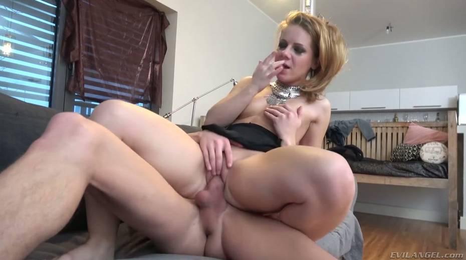 Hot Ukrainian babe Sasha Zima is fucked in her stretched anal hole - 14. pic