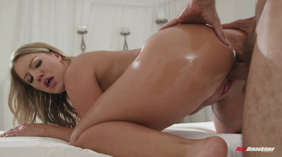 Bodacious babe Candice Dare gets her pussy oiled up and fucked hard - 13. pic