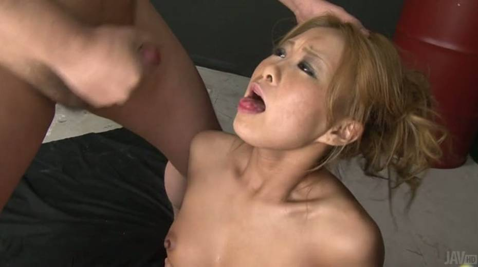 Attractive girl Yuno Shirasu nailed passionately in a missionary position - 14. pic
